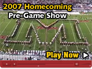 2007 Homecoming Pre-Game Show